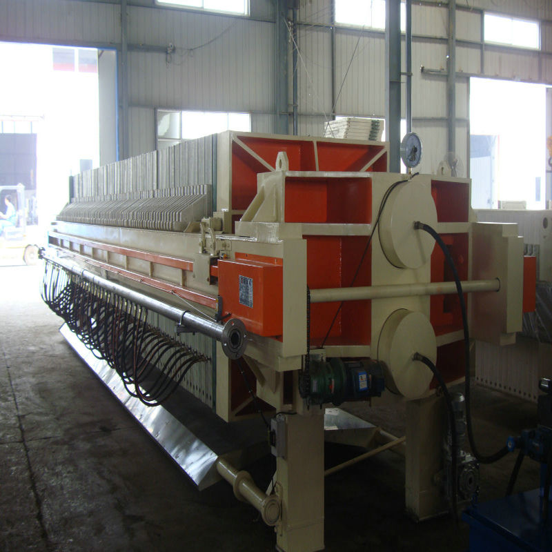 Filter-Cloth Washing Food Cast Iron Filter Press