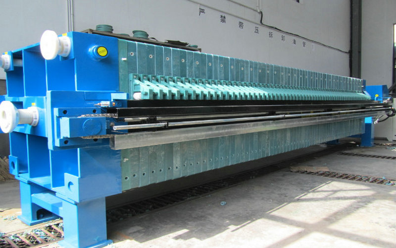 Chamber Membrane Filter Press Used For Ceramic Clay
