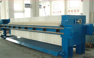 Horizontal-Type Flexible Diaphragms Filter Press Machine