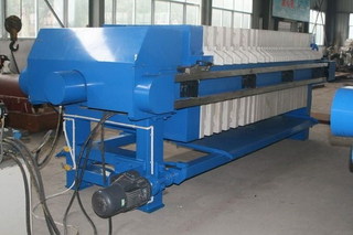 Automatic Hydraulic Starch Plate Frame Filter Press