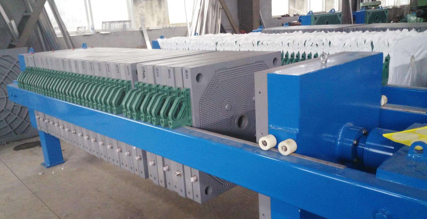 Hydraulic Pump Popular Starch Cast Iron Filter Press