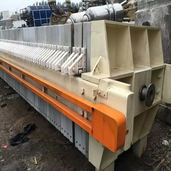 Paper Plant Wastewater Discharge Membrane Filter Press