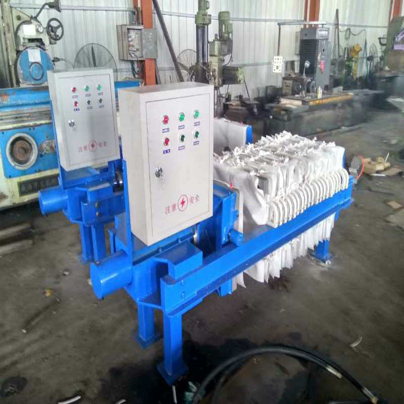 Hard Iron Paper Industrial Filter Press Device