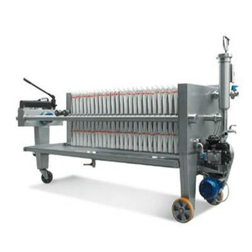 PLC Control Cast Iron Filter Press With Long-Life