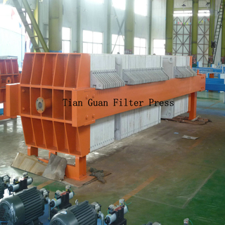 High Performance Hydraulic Sewage Plate Frame Filter Press