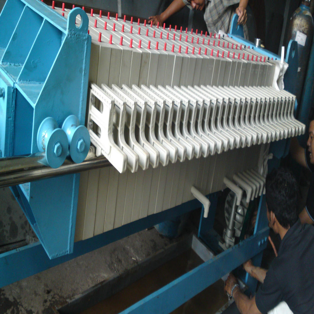 Automatic Recycling Paper Industry Plate Frame Filter Press