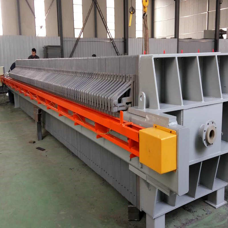 Hydraulic Metallurgy Cast Iron Filter Press Construction