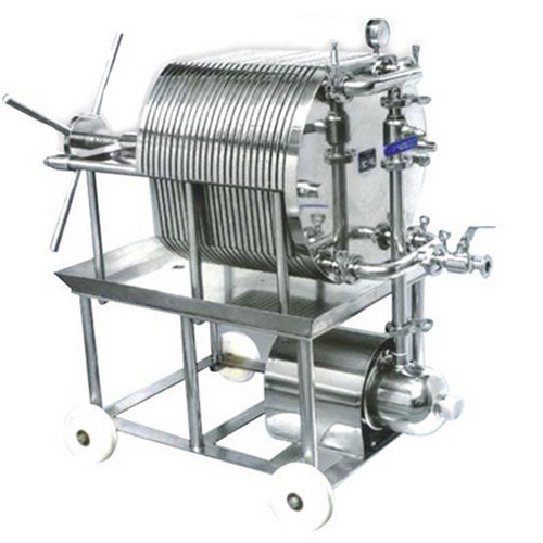 Muti-function Portable Stainless Steel Filter Press