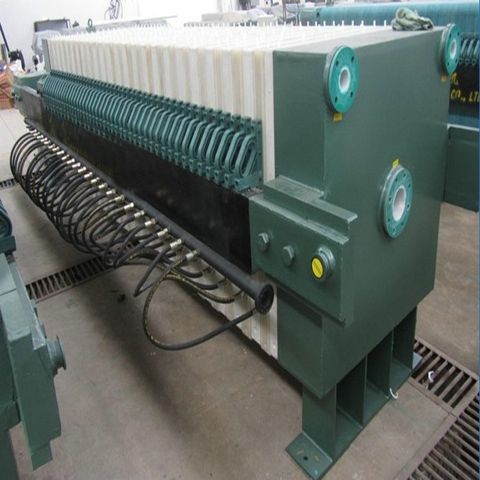 Big Size Chamber Filtering Press With PLC Control