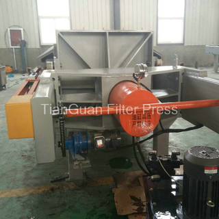 PLC Cast Iron Sludge Dewatering Filter Press