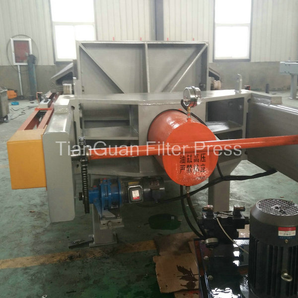 Large Processing Capacity Hydraulic Chamber Filter Press