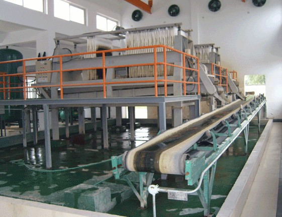 Sugarcane Sugar Syrup Refinery Filter Press