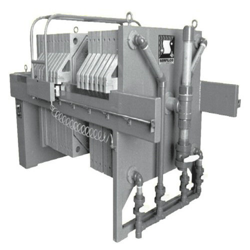 Food Starch Cast Iron Filter Press Automatic Wash