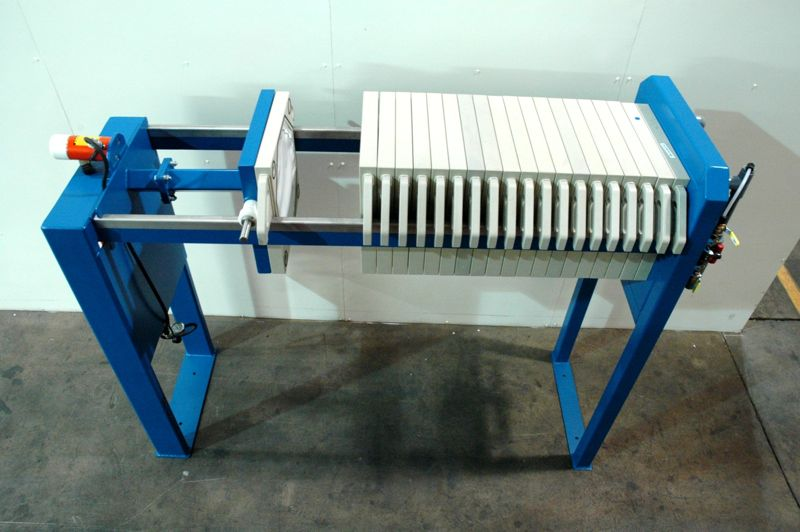Sewage Chamber Membrane Filter Press For Industrial