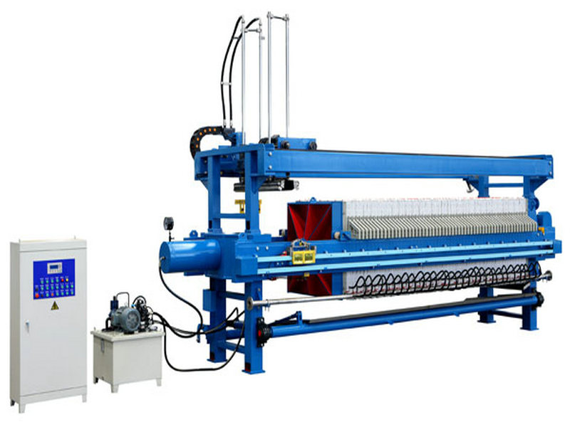 Automatic Chamber Filter Press For Sugar Syrup