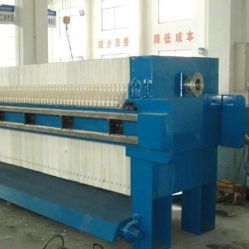 Dewatering Sludge Paper Chamber Filter Press Equipment