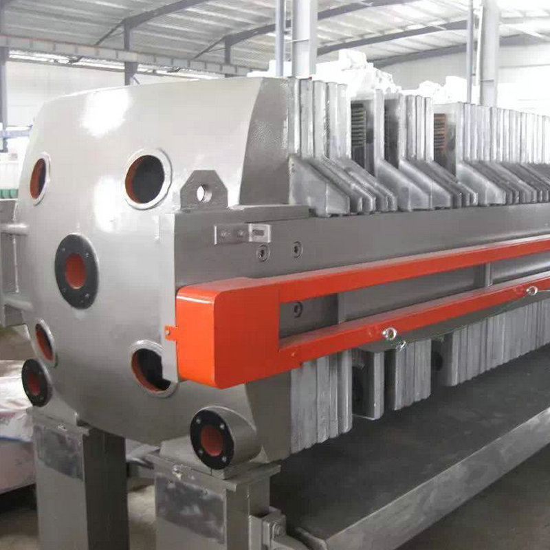 Filter-Cloth Washing Metallurgy Cast Iron Filter Press