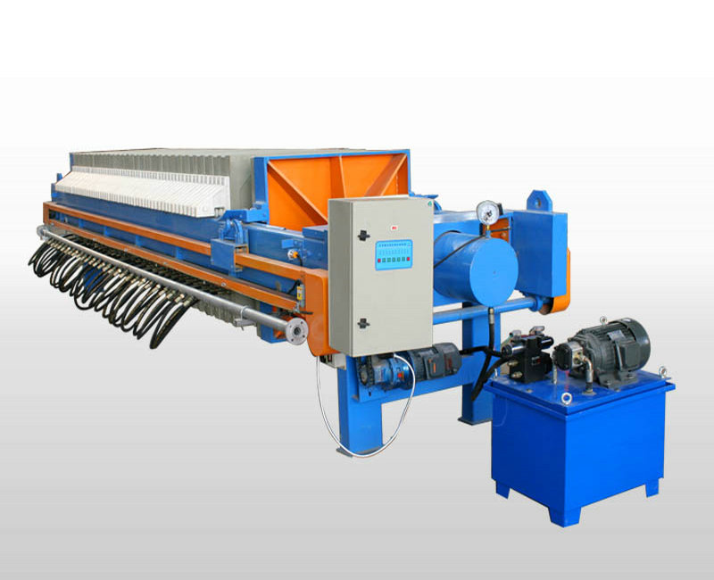 Hydraulic Coal Washing Cast Iron Filter Press Industrial
