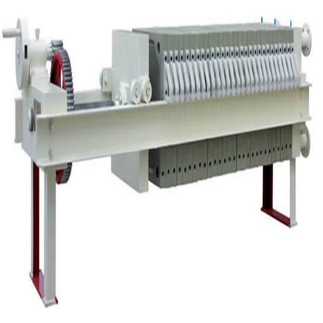 Automatic Pressed Steel Drip Tray Mechanical Filter Press