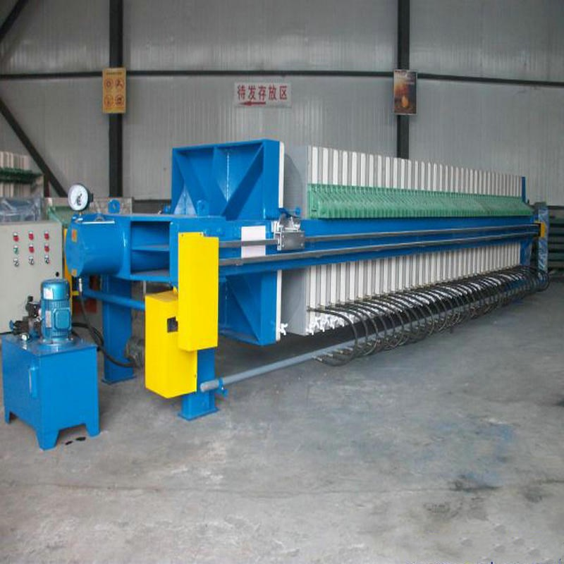 Automatic Hydraulic Sugar Syrup Chamber Filter Press