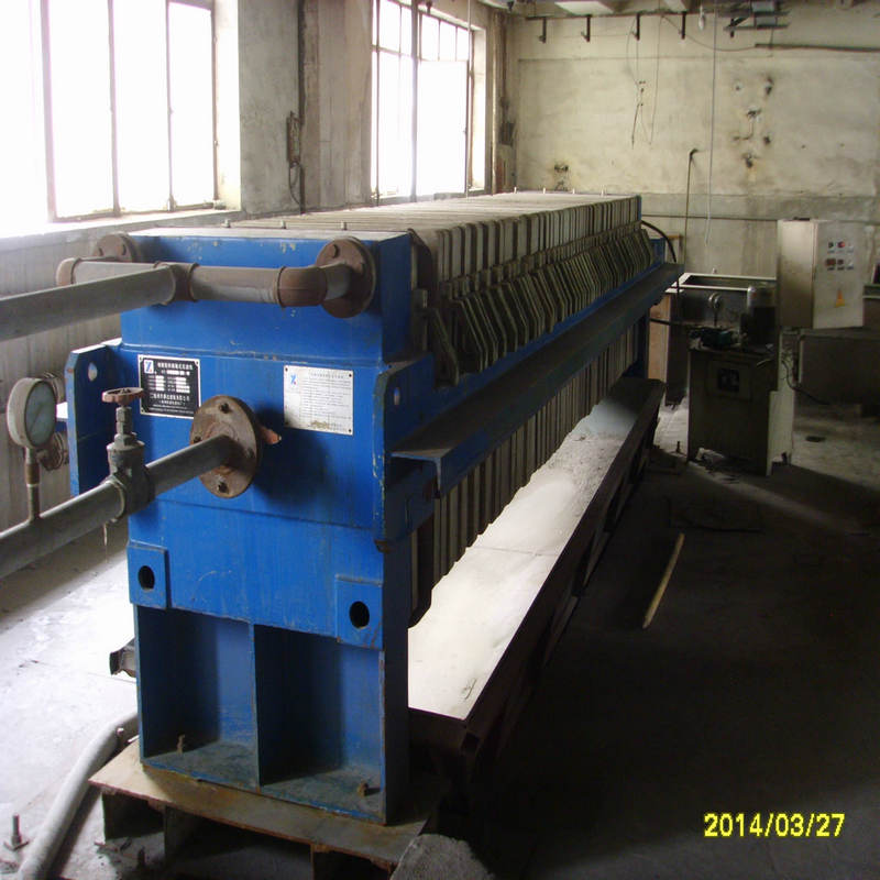 Coal Mine Washing Equipment Membrane Filter Press