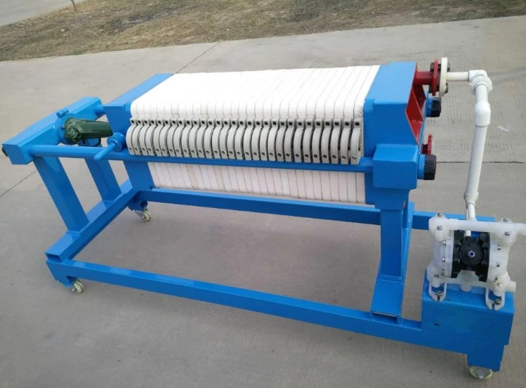 Stainless Steel Filter Press For Chemical Industry
