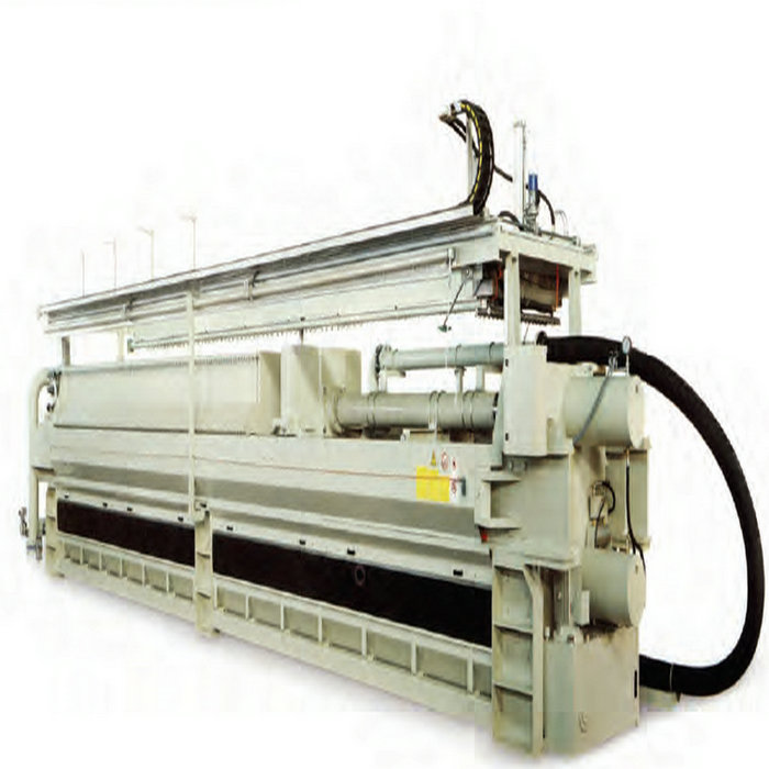 Pottery Clay Plate Frame Filter Press PLC Control