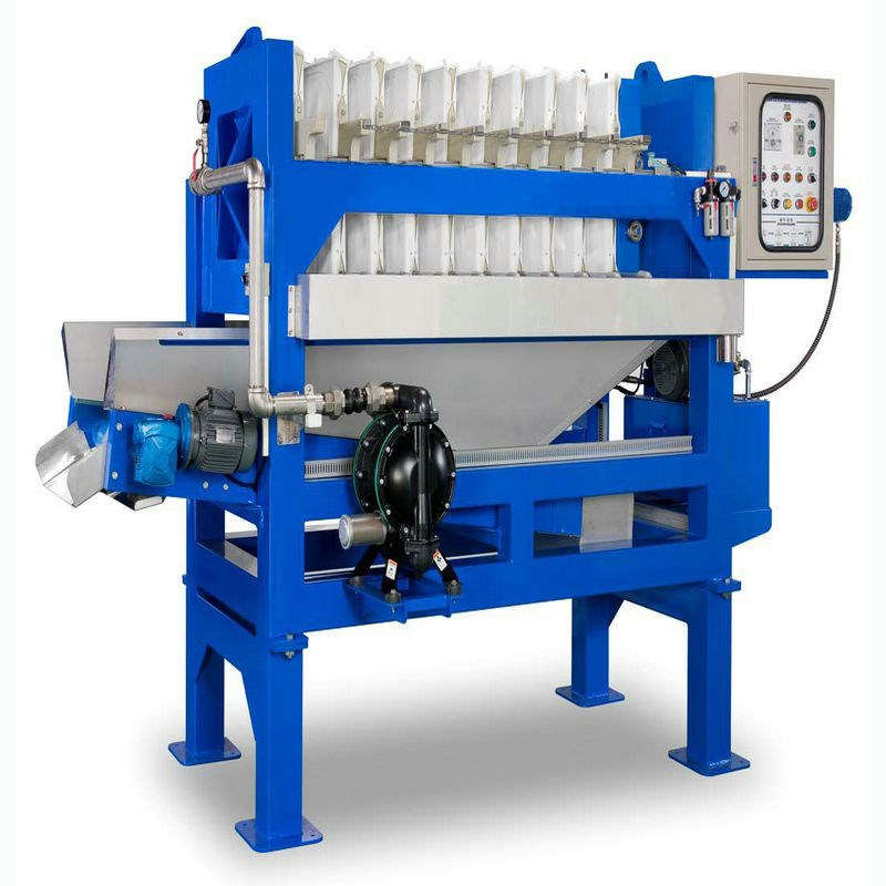 Automatic Hydraulic Pottery Chamber Membrane Filter Press