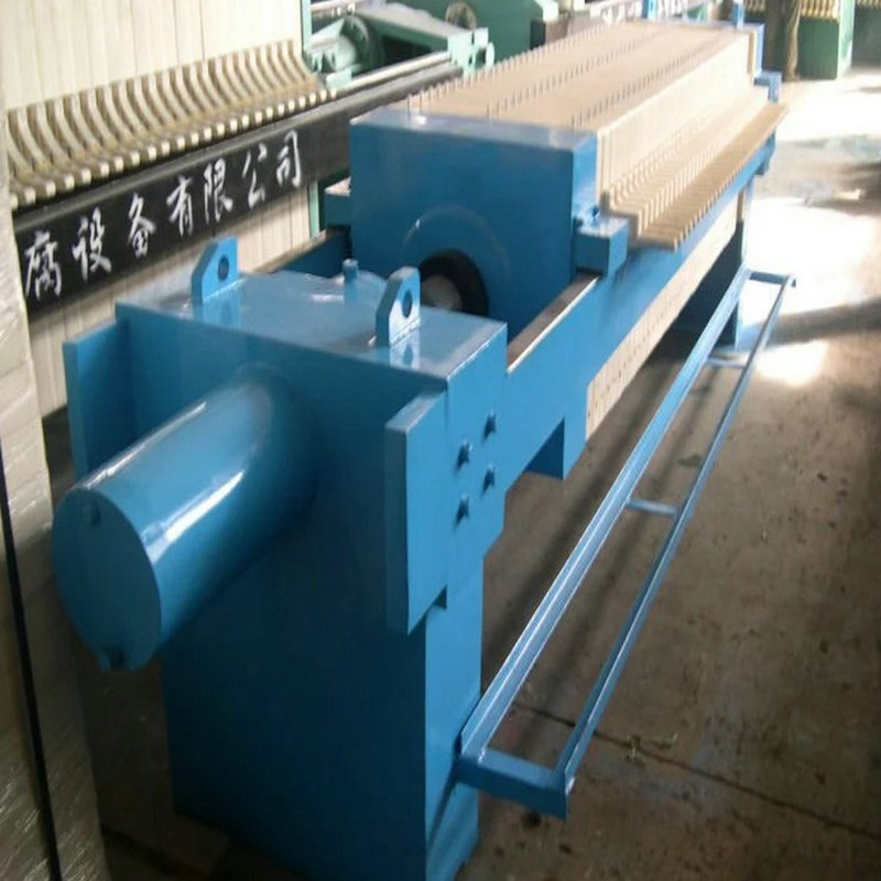 Paper Pulp Sewage Automatic Membrane Squeezing Filter Press