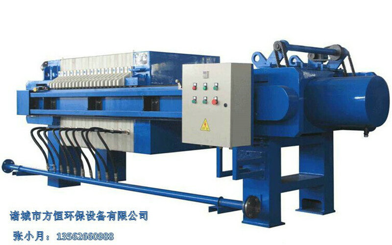 Automatic Hydraulic Food & Beverage Chamber Filter Press