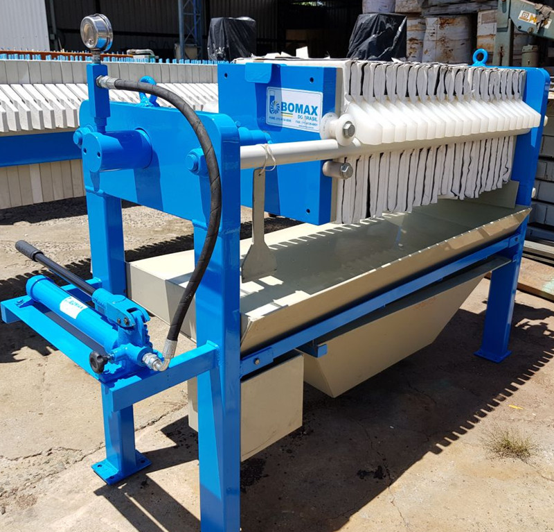 Sludge Dewatering Flexible Diaphragms Filter Press machine