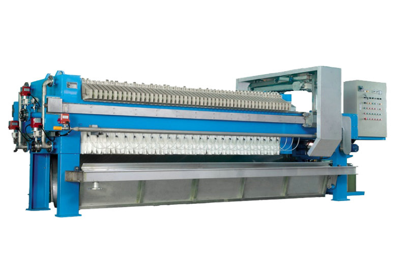 Automatic Clean Sugar Syrup Stainless Steel Filter Press