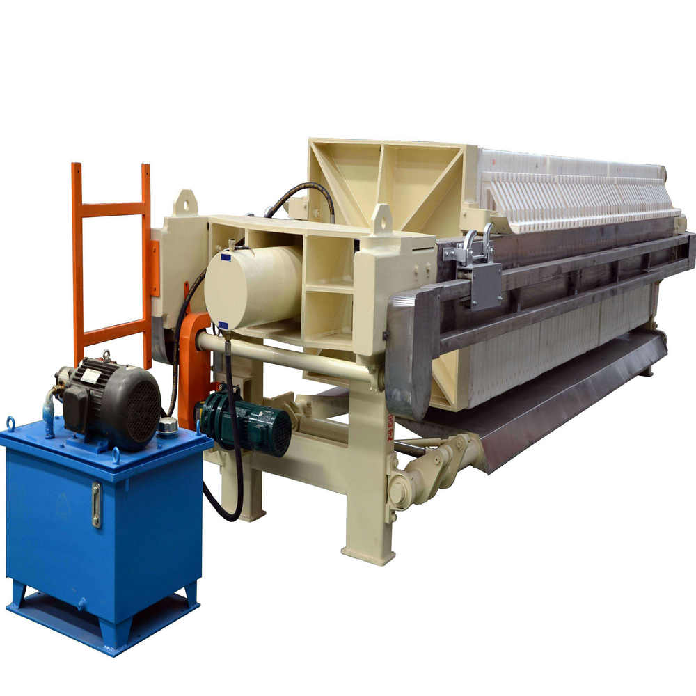 Coal Dressing Industry Chamber Membrane Filter Press